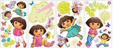 DORA THE EXPLORER WALL STICKERS 28 New Girls Room Decals Pink Decorations Decor