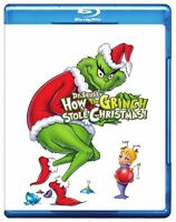 How the Grinch Stole Christmas (Blu-ray, 2009, ) NEW