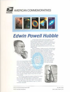 #598 33c Hubble Space Strip #3384-3388a USPS Commemorative Stamp Panel