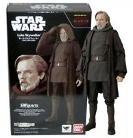 Bandai S.H.Figuarts Star Wars Luke Skywalker (The Last Jedi) US Seller Authentic