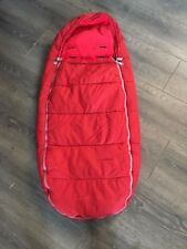 QUINNY BUZZ  ZAPP MOODD FOOTMUFF RED