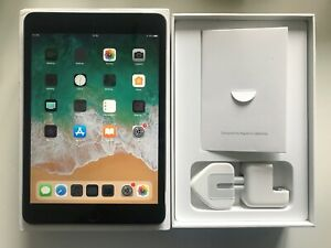 Grade A Apple IPAD Mini 3 64GB,Wi-Fi + Cellulaire (Débloqué),7.9in - Espace Gris