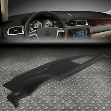 FOR 07-14 TAHOE SUBURBAN GMC YUKON DASH BOARD CAP DASHBOARD COVER OVERLAY BLACK