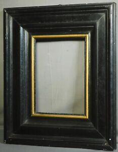 Antique Dutch Baroque Ebonized Picture Frame Historic BEERS BROTHERS 1600s 1800s