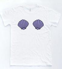 Ariel Seashell T-shirt Nautical Princess Sea Tee Hipster Indie Mermaid Cute Top