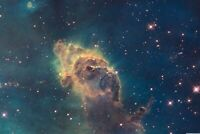 A1 | Cool Nebula Poster Art Print 60 x 90cm 180gsm Space Sci-Fi NASA Gift #8868