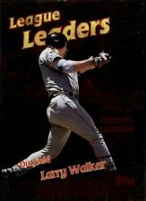 1999 Topps #221 LARRY WALKER League Leader Colorado Rockies Awesome Mint !!
