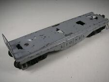 Lionel 6814 Rescue Unit / First Aid car part: FRAME & TRUCKS, NOS but poor paint