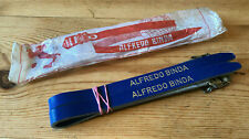 NOS Alfredo Binda Pedal Toe Straps Dark Blue, New In Packet