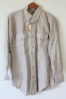 H Bar C California Ranchwear VINTAGE Western Shirt Mens 15/32 cowboy Rockabilly