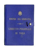 Aeronautica Militare - Libretto Personale di Volo - anni '30 - Intonso