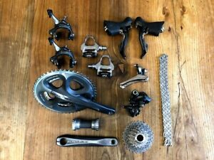 Shimano Dura Ace 7900 10 speed groupset 7800 durace group set MINT pedals 50 34