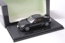 1:43 Ebbro Toyota 86 Coupe black NEW bei PREMIUM-MODELCARS