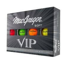 MacGregor VIP Golf Ball Multi Coloured 12 Pack