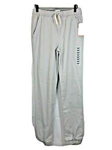 Old Navy Boys XXL(18) Gray Drawstring Built-In Flex Uniform Jogger Pants