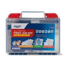 On Sale! Equate All-Purpose First Aid Kit, 140 Items Hurricane Emergency