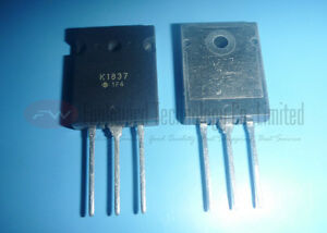 Toshiba 2SK1837 Silicon N-CH MOSFET TO3PL x 1PC NEW