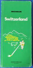 1970's MICHELIN GUIDE SWITZERLAND. UK DISPATCH