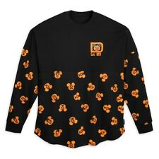 More details for disney mickey and minnie mouse pumpkin halloween spirit jersey 2021 - adult l