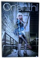 Orianthi Signed Autographed 22.5X34 Promo Poster Guitarist JSA HH37513