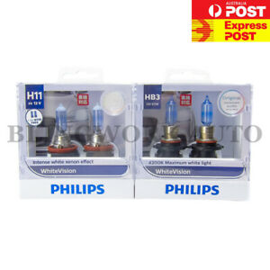 CLEARANCE! FREE T10 PHILIPS H11 HB3 White Vision Halogen Bulbs Mazda CX3 CX5 3