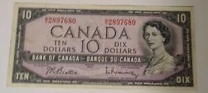 10 Dollar Canadian Bill (1954; AU)