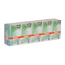 5 x OSRAM Gotas Suave Jade 40w E14 MATE Bombilla incandescente 40 vatios