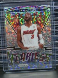 2020-21 Prizm Dwyane Wade Fast Break Prizm Fearless #16 Heat Y310