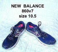 New Balance 860v7 Womens Running Shoes Blue/Purple/Gray W860BP7 Size 10.5