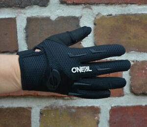 O'Neal Element Women Glove MTB Gloves Mesh Inserts Black New