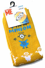 Señoras Despicable Me 1 En Un Minion Amarillo Minions calcetines UK Size 4-8