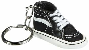 Vans Off The Wall Sk8-Hi Top Shoe Keychain - Black