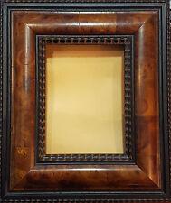 Schöner Wurtzelholzrahmen Innenmaß 14,5 x 19,5 cm. Außen 31 x 35 cm. Breite 9 cm