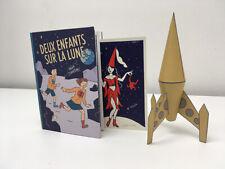 STANISLAS - DEUX ENFANTS SUR LA LUNE Tirage Limité - Editions Les Rêveurs, 2021