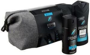 Axe Geschenkset Alaska Bodyspray 150ml & Duschgel 250ml mit Washbag