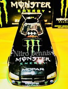 NHRA KENNY BERNSTEIN 1:24 Diecast MONSTER ENERGY RC2 NITRO Funny Car TOP FUEL 07