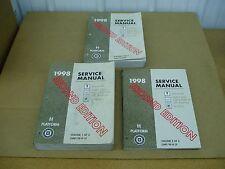 1998 Pontiac Bonneville Buick LeSabre Olds Eighty Eight 88 service shop manual