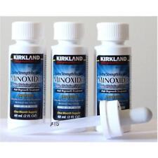 Minoxidil Kirkland -  5%   3 FRASCO DE 60ML, CUENTAGOTAS