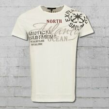 Rusty Neal Männer T-Shirt Atlantic Ocean weiss Herren Tshirt