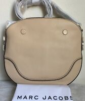 NWT!! Marc Jacobs Small Drifter Leather Shoulder Bag $360 Buff Original Packing