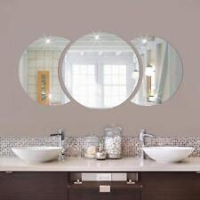 3D Round Mirror Art Mural Decal Removable Wall Sticker Home Room Decor HY