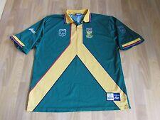 Asics ICC Cricket World Cup Inglaterra 99/1999 South Africa sa Cricket Camisa XXL