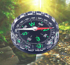 Survival Pocket Outdoor Liquid Button Filled Mini Hiking Camping New Compass