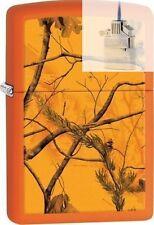 Zippo 29130 realtree blaze orange Lighter & Z-PLUS INSERT BUNDLE