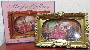 MUFFY GALLERY Muffy in Bal Masque Painting and Frame 1994 NOS