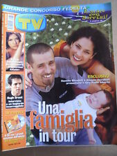 TV Sorrisi e Canzoni 30 2002 Daniele Silvestri Simona Cavallari Hugh Grant [D53]