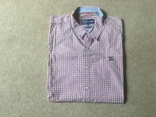 American Today dress shirt button down size XXL cotton check design limited