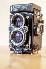 !!! For Parts !!! Rolleiflex Planar 75mm F/3.5