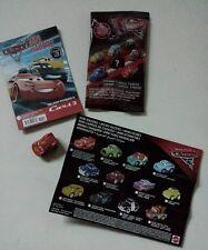 Disney CARS 3 mini micro racers mattel SAETTA MCQUEEN N. 95 1cars+poster+rivista