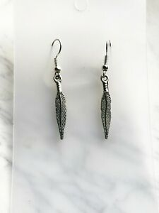 Feather Bird Earrings